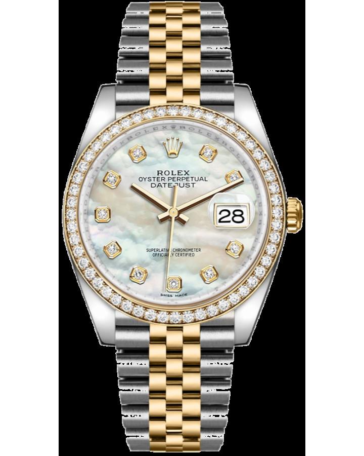 Часы Rolex Datejust 36mm Steel and Yellow Gold 116233 Тюнинг