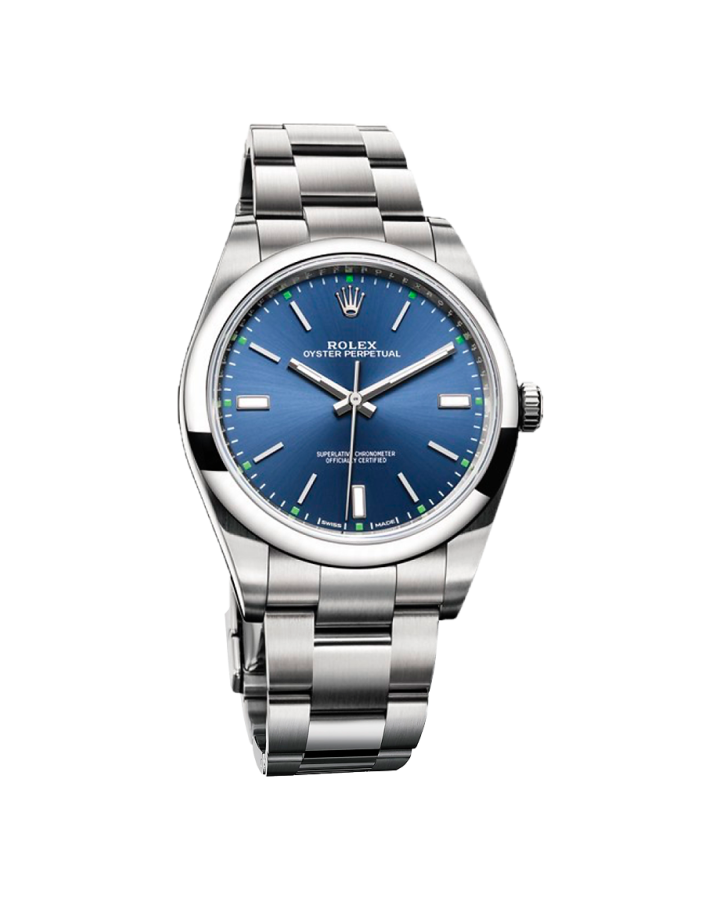Rolex Oyster Perpetual 39 mm Steel 114300 Blue