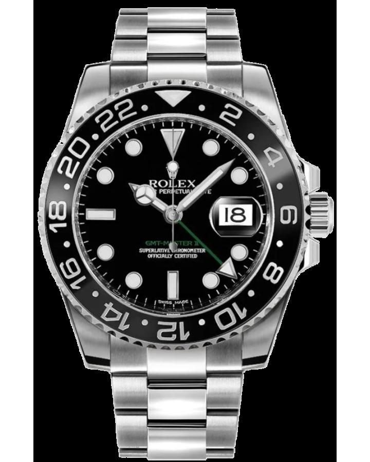 Часы Rolex GMT Master II 40mm Steel 116710LN
