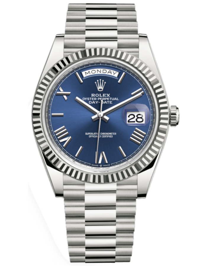 ROLEX DAY-DATE40MM WHITE GOLD