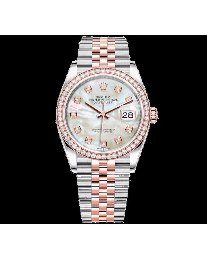 Часы Rolex DATE JUST STEEL AND EVEROSE GOLD 126231 ТЮНИНГ.