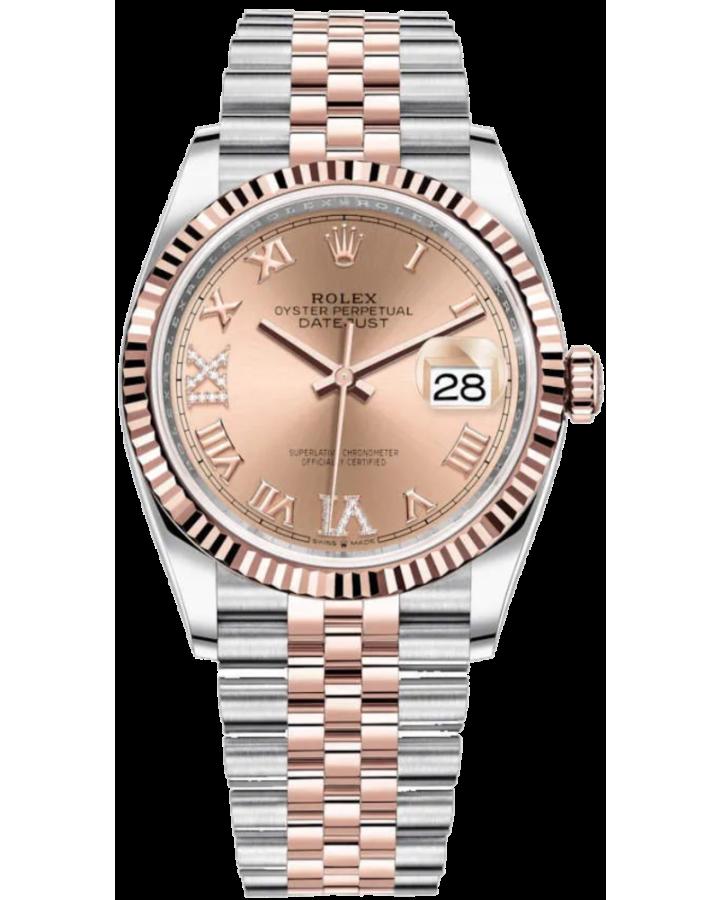 Часы Rolex Datejust 36mm Steel and Everose Gold126231-0027