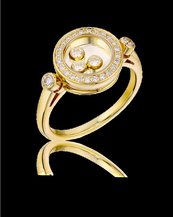 Кольцо Chopard Happy Diamond 823957 0110