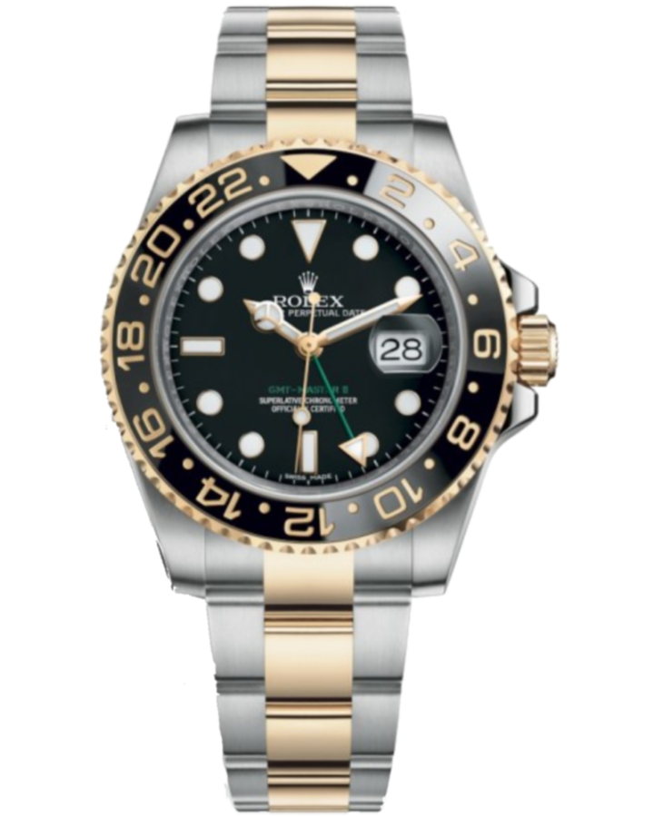 Часы Rolex GMT Master II 40mm Steel and Yellow Gold 116713LN
