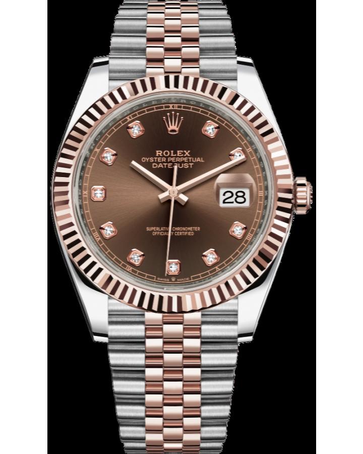 Часы Rolex Datejust 41mm Steel and Everose Gold 126331-0004