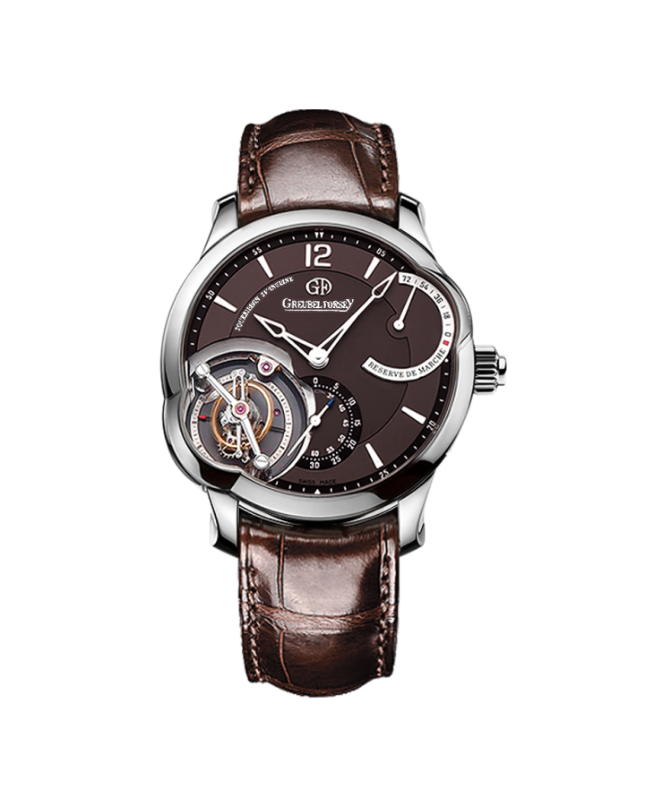 Часы Greubel Forsey T 24SI N 74 WG BROWN Tourbillon 24 Secondes EXECUTION SPECIALE