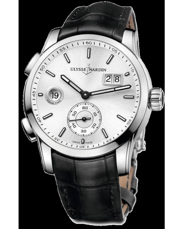 Часы Ulysse Nardin Classic Dual Time 42 mm Manufacture 3343-126/91