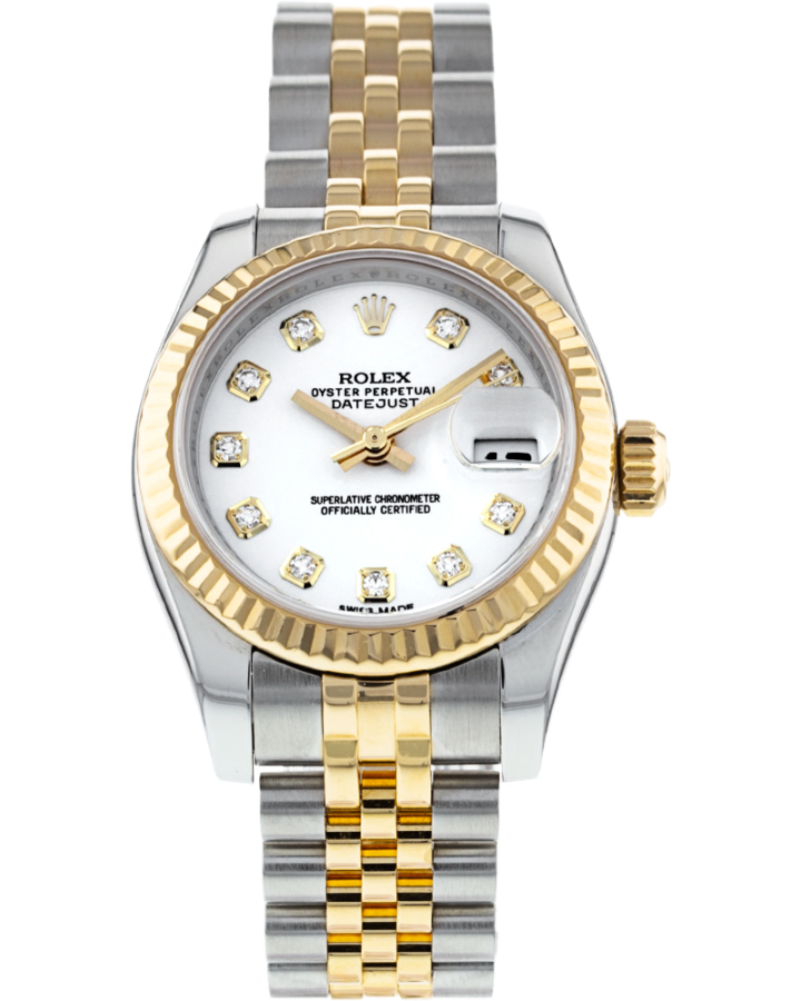 ROLEX DATEJUST 26MM STEEL AND YELLOW GOLD