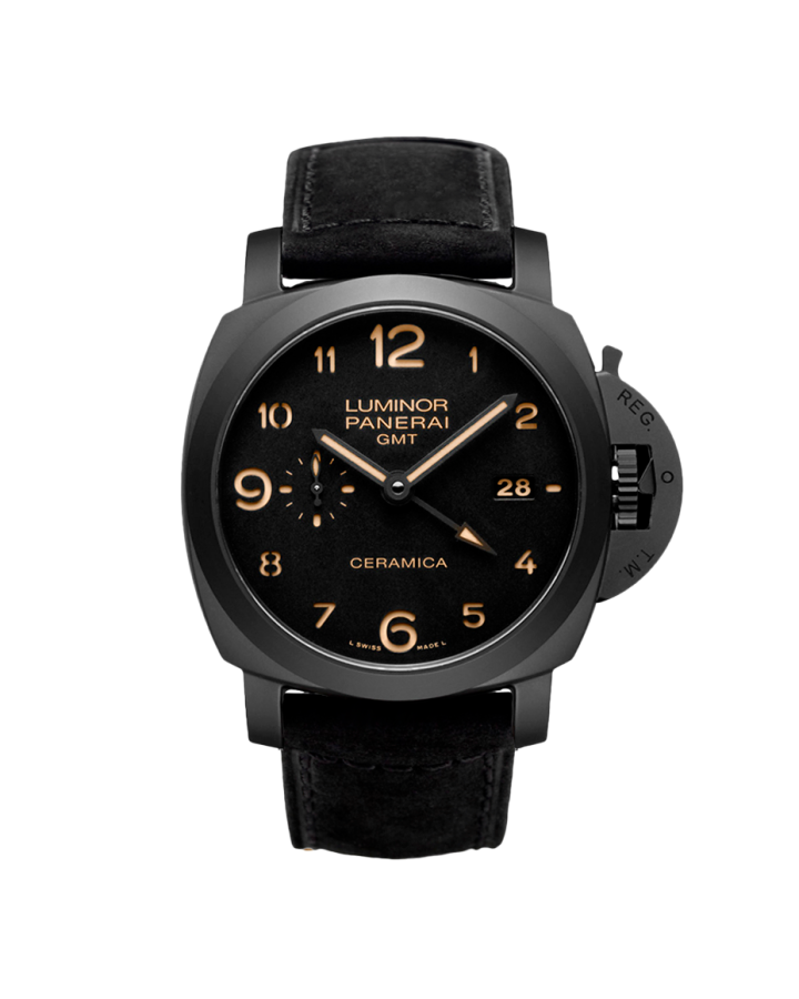 Часы Panerai Officine Luminor 1950 3 Days GMT Automatic Ceramica PAM00441