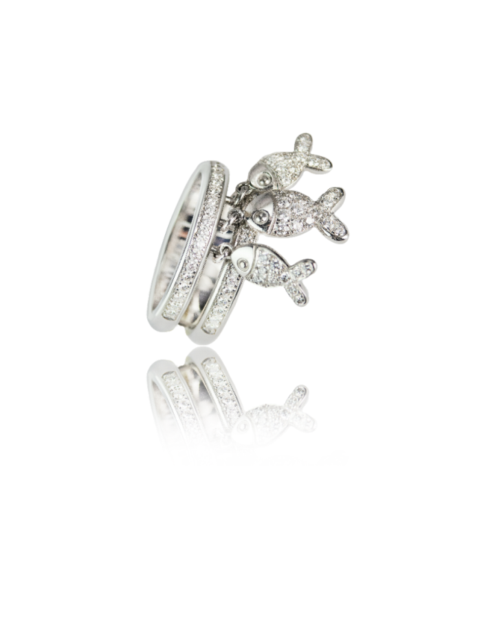 Кольцо Chopard  HAPPY Fish 824702-1110