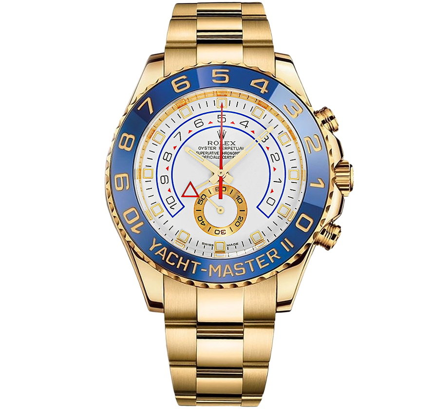 ROLEX YACHT-MASTER II 44MM YELLOW GOLD